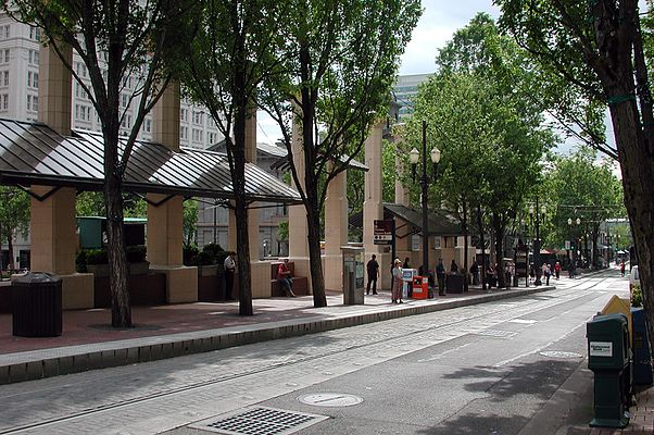 Pioneer Square South and Pioneer Square North