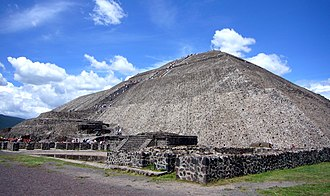 Mesoamerican pyramids - Pyramid of the Sun