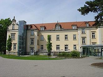 Sonnenstein Castle - House 16, Schloss Sonnenstein, as a memorial.