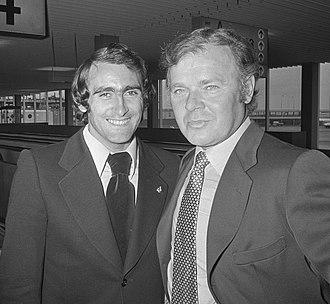 Pirri - Pirri (left) with László Kubala in 1973