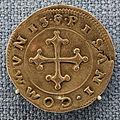 Pisa, seconda repubblica, testone, 1495-1509.JPG