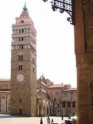 La torre del campanile di Pistoia