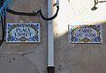 Plaça l'Omet - carrer de sant Antoni de Benilloba, plaques.JPG