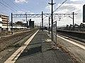 Platform of Akama Station 6.jpg