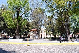 San Miguel Zinacantepec - Main Plaza of Zinacantepec