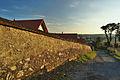 Pohled na obec z kopce od kostela, Jedovnice, okres Blansko.jpg