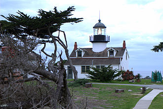 Monterey Peninsula - Point Pinos Lighthouse, Pacific Grove, California.
