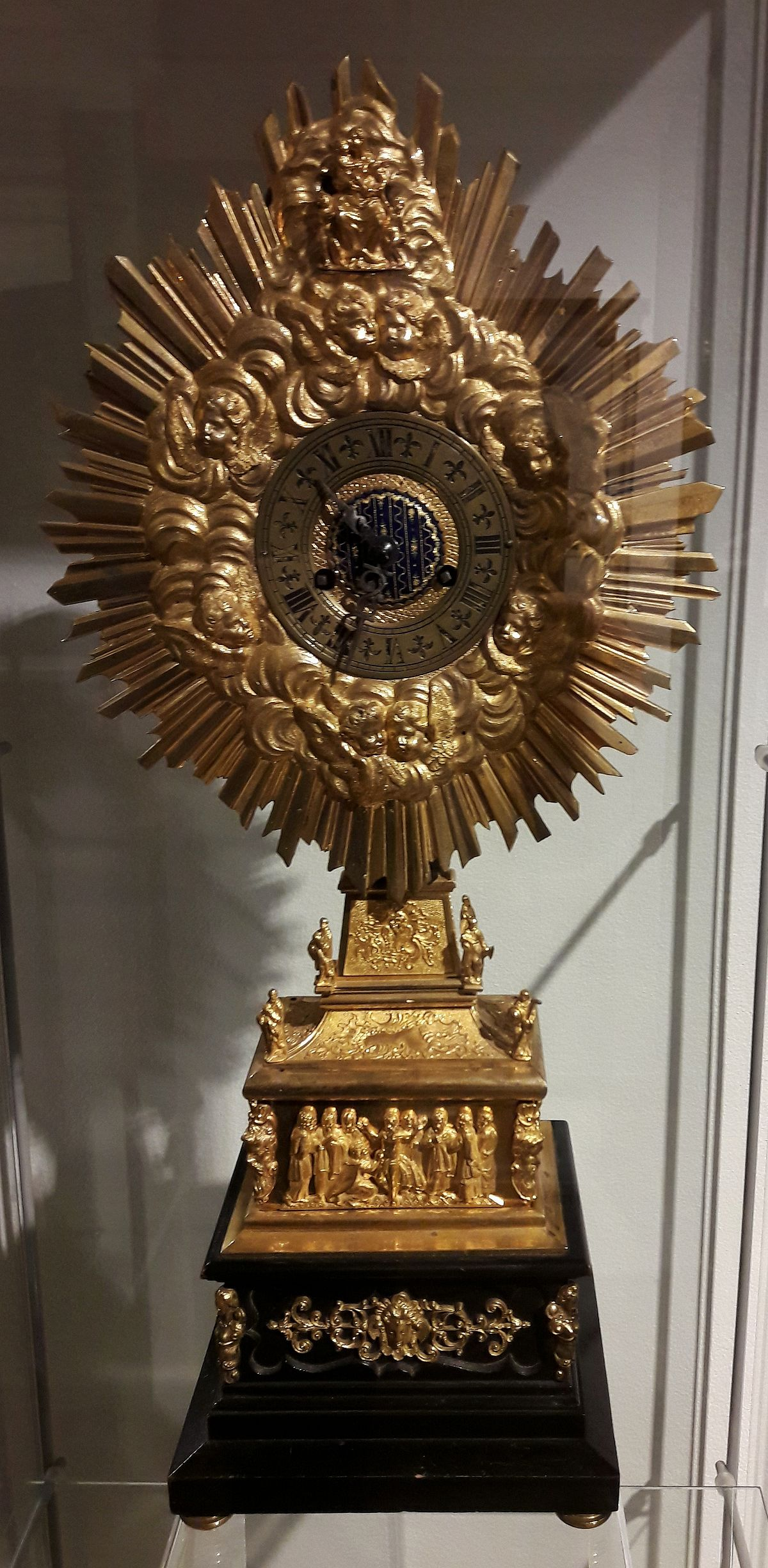 Monstrance Clock Wikipedia