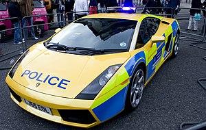 Lamborghini Gallardo - London's Metropolitan Police Gallardo