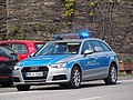 Polizei Audi Unfall in Oberwesel pic2.JPG