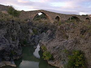 Adrano - Ponte dei Saraceni.