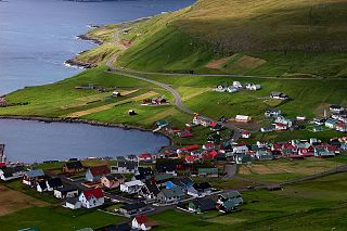 Porkeri Municipality and village in Faroe Islands, Kingdom of Denmark