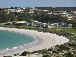 Port Neill, South Australia - Image: Port Neill beach and houses
