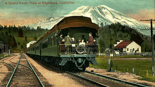 Portland Express Southern Pacific 1917