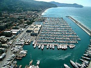 Lavagna - The marina of Lavagna