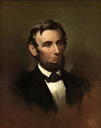 Samuel Waugh - Image: Portrait of Abraham Lincoln by Samuel Bell Waugh