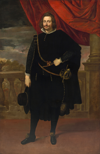 John IV of Portugal - Portrait by Peter Paul Rubens, c. 1628.