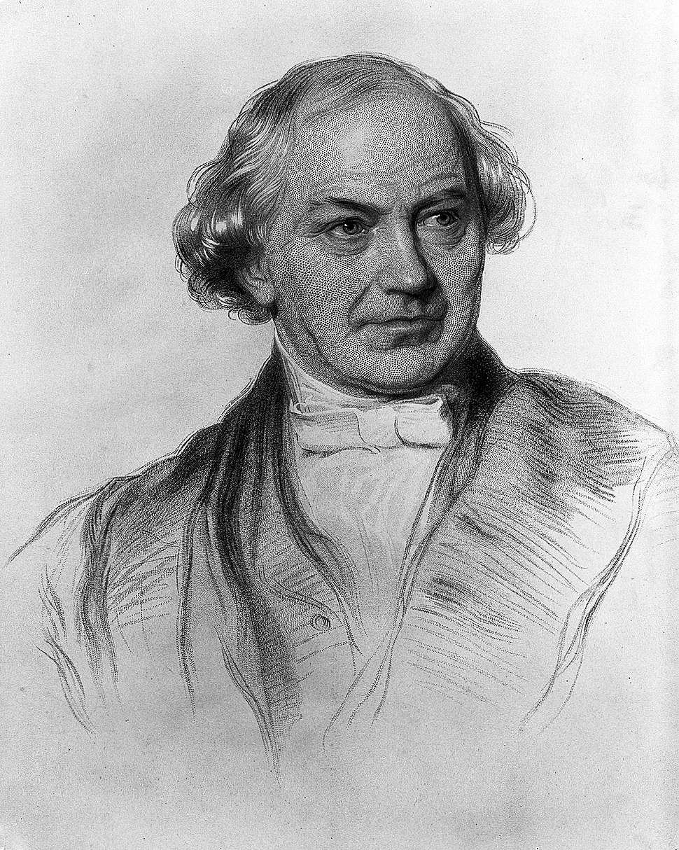 Portrait of W. Whewell; stipple engraving Wellcome L0014766