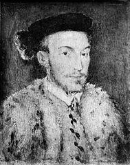 Portrait of a Man in a White Fur Coat