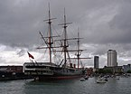 Portsmouth MMB 42 Royal Naval Dockyard - HMS Warrior.jpg