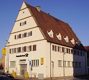 Mutterstadt - Image: Post in Mutterstadt