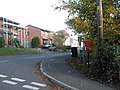 Postbox at junction of Bicester Close and Evingar Road - geograph.org.uk - 604199.jpg