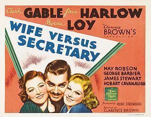 Wife vs. Secretary - Lobby card
