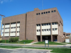 Das Pottawattamie County Courthouse in Council Bluffs