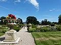 Powderham Castle. The Rose Garden. - panoramio.jpg