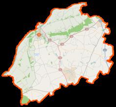 Mapa lokalizacyjna powiatu chełmińskiego
