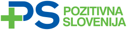 The logo of Positive Slovenia, in use since 21 January 2012