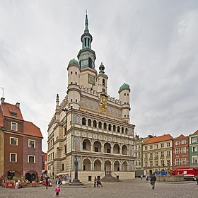 Image illustrative de l'article Hôtel de ville de Poznań
