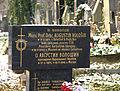 Praha, Vinohrady, Olšanské hřbitovy, hrob Augustina Vološina.jpg