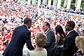 President Barack Obama Greets Former Senator Bob Dole.jpg