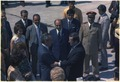 President Hafez al-Assad of Syria greets President Nixon on his arrival at Damascus airport - NARA - 194584.tif