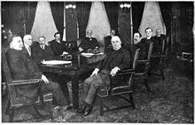 President William H. Taft's Second Cabinet 1912