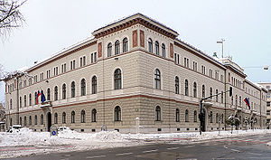Drava Banovina - The building that housed the administrative seat of Banovina today serves as Government and Presidential Palace of Slovenia
