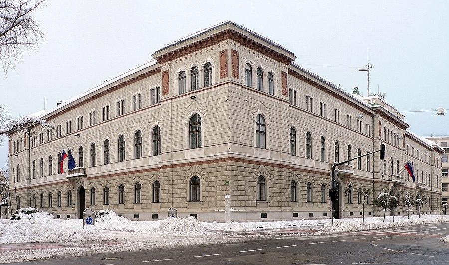 Presidential Palace. Ljubljana