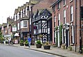 Prestbury in Cheshire - the Village, northwest side.jpg