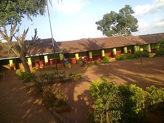 Chikmagalur district - Housing Board School, Kadur Road