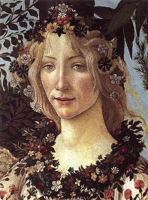 Flora (mythology) - Image: Primavera 04