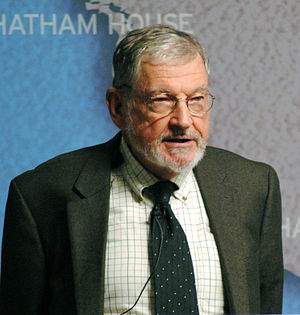 John Mueller - Mueller speaking at Chatham House in 2013