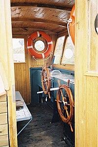 Prom na Warcie w m. Czeszewo. Ferry in Czeszewo (Poland - Warta river) (1).JPG