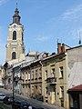 Przemyśl, dzwonnica przy katedrze św. Jana Chrzciciela, widok od wsch..JPG
