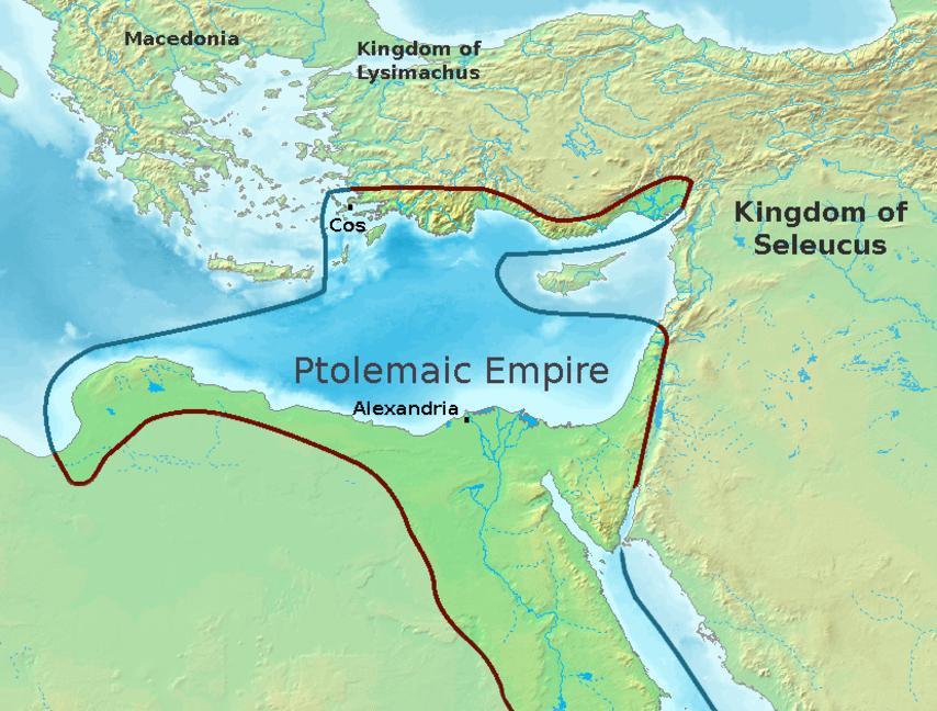 Ptolemaic-Empire-300BC