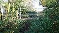 Public footpath and gate - geograph.org.uk - 605987.jpg