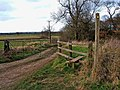 Public footpath off the Milton to Ingleby road - geograph.org.uk - 1175472.jpg