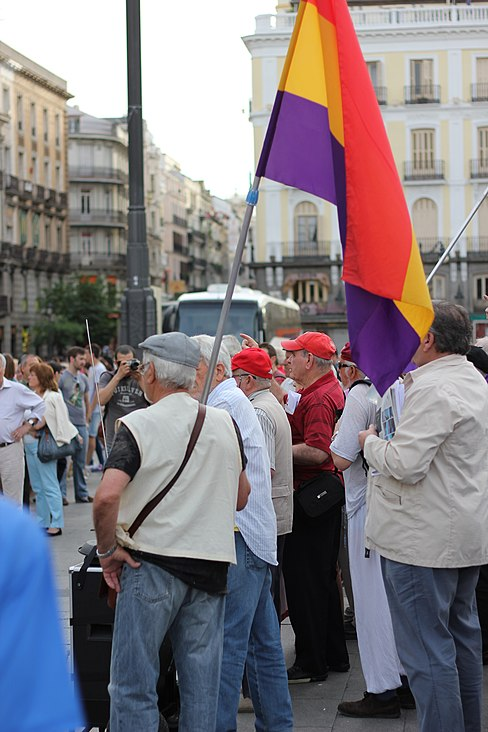 Puerta del Sol Franco Protest May 15 2014 05.JPG