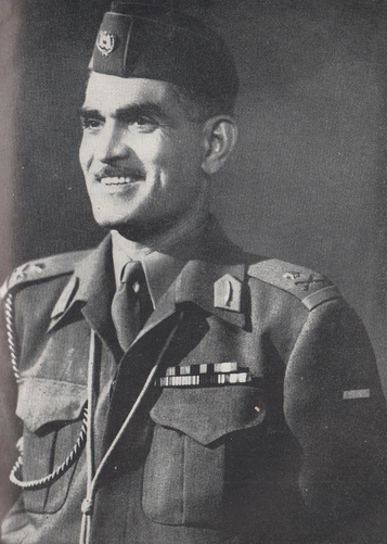 Qasim in uniform
