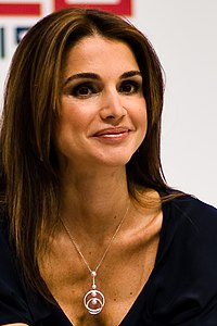 Queen Rania of Jordan at Le Web 09 (4174494458).jpg
